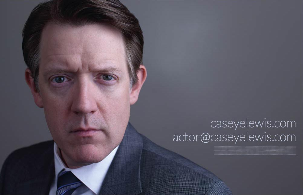 Actor business card design by SRVCSrendered